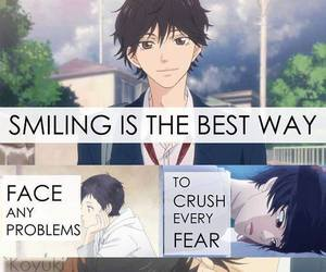 anime, ao haru ride, and quote image