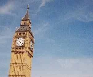 london, Big Ben, and vintage image