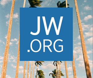 god, JW, and world image
