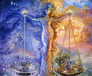 Libra and art image
