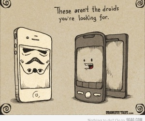 funny, star wars, and droids image
