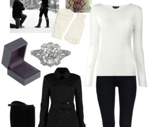 fashion, outfit, and proposal image