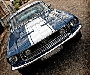 hdr, mustang, and '68 image