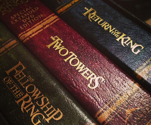 book, LOTR, and tolkien image