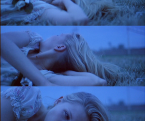 blue, Kirsten Dunst, and lay image