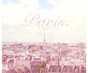 paris, pink, and love image