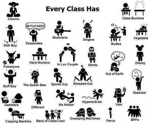 class and school image