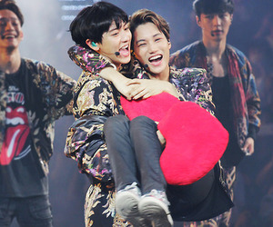 exo, kai, and chanyeol image