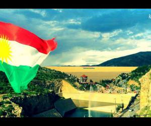 flag, kurd, and kurdistan image