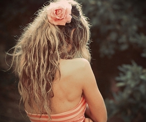 blond, rose, and cute image