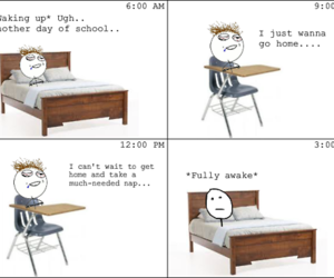 funny, Right, and school image