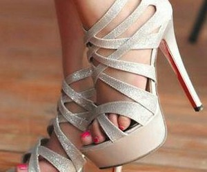 fashion, heels, and high heels image