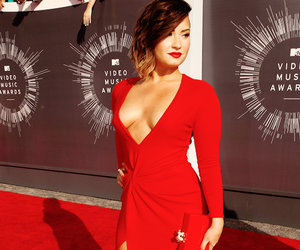 demi lovato, demi, and dress image