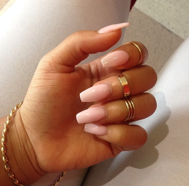 French Manicure On Long Natural Nails- HireAbility