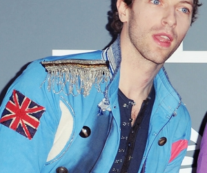 blue eyes, Chris Martin, and hermoso image