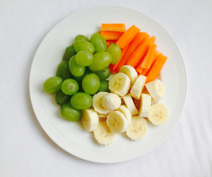 banana, carrot, and clean image