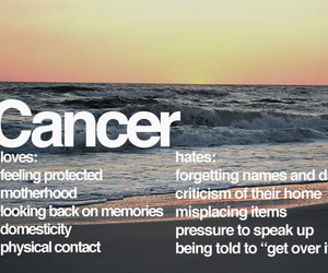 cancer, zodiac, and love image