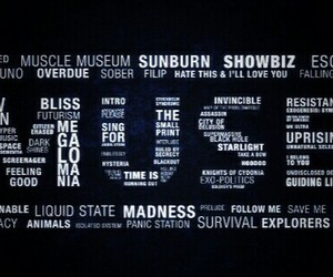 Lyrics, muse, and quotes image