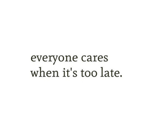 care, quotes, and life image