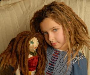 doll, dreadlocks, and dreads image