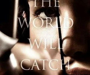 catch, fire, and hunger games image
