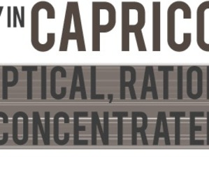 capricorn, rational, and skeptical image