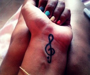 nails, colors, and music image