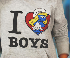 boy, i love boys, and heart image