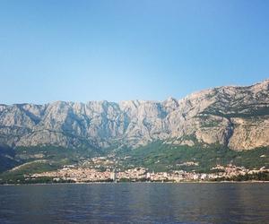beach, city, and Croatia image