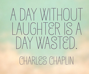 chaplin, happiness, and laughter image