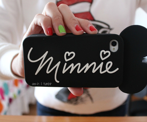 minnie, case, and iphone image
