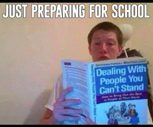 people, school, and funny image