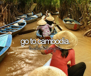 travel, bucketlist, and Cambodia image