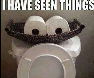 funny, toilet, and lol image