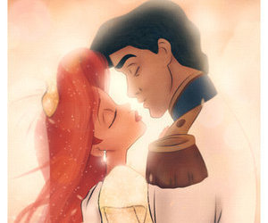 ariel, mermaid, and prince image