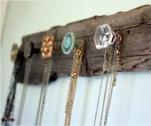 diy, jewelry, and wood image