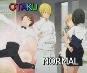anime, Otaku, and funny image
