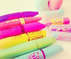 makeup, mascara, and baby lips image