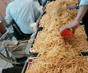 food, French Fries, and patato image