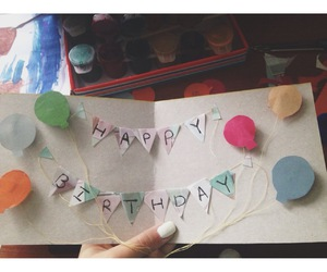 balloons, color, and handmade image