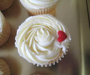 cupcake, frosting, and delicious image