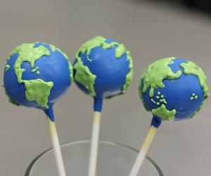 world, earth, and food image