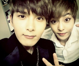 exo, xiumin, and ryeowook image