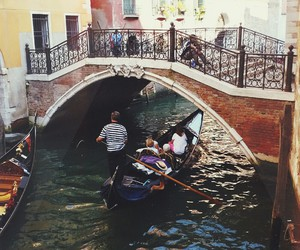 boat, venice, and swag image