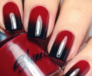 fashion, gradient, and nail art image