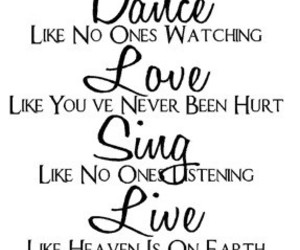 live, quote, and love image