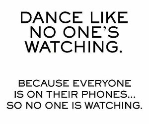 dance, phone, and funny image