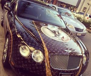 car, Louis Vuitton, and LV image