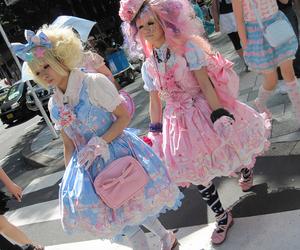 japanese, lolita, and decora kei image