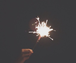 fireworks, light, and tumblr image